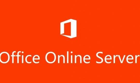 Office Online Server 2016 (OOS) 部署教程